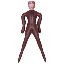 Dmuchana lalka - czarnoskóry mężczyzna 9047