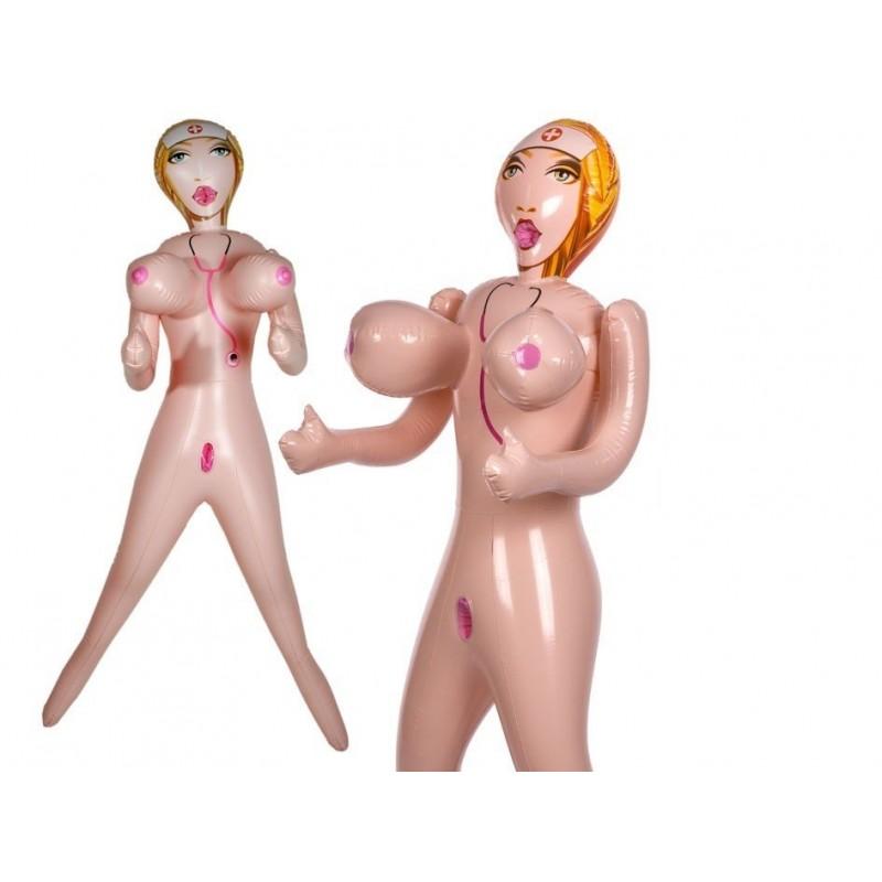 Sex lalka pielęgniarka z dużym biustem 9049