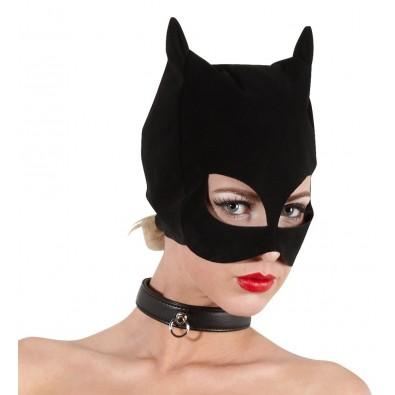 Czarna maska kuszącej kotki Bad Kitty 9077