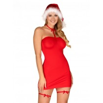 Seksowny świąteczny kostium Mikołajki 9094